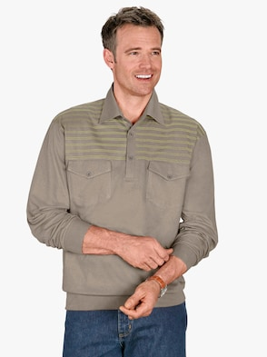 Polokošile - khaki
