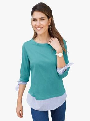 Tričko - Jadeitová zelená