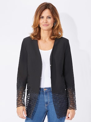 Fair Lady Blazer - schwarz