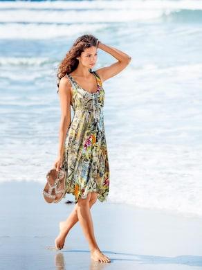 Ashley Brooke Druck-Kleid - bunt