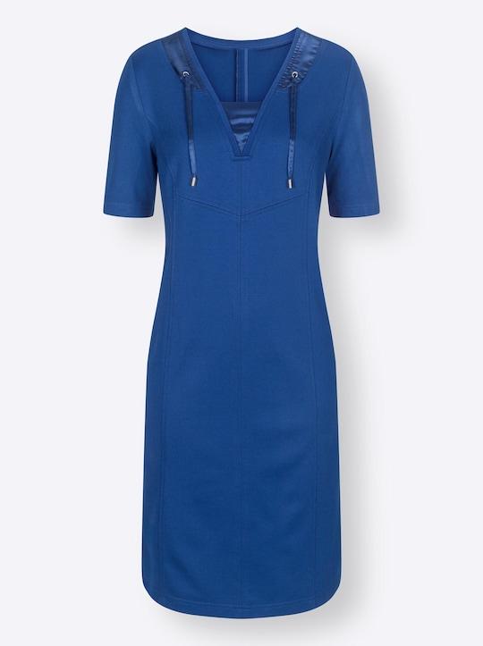 Jersey-Kleid - royalblau