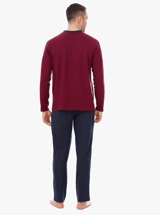 Top Ten Pyjama - rood/marine