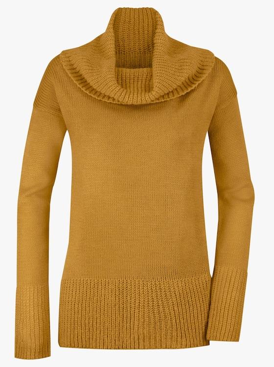 Pullover - messingfarben