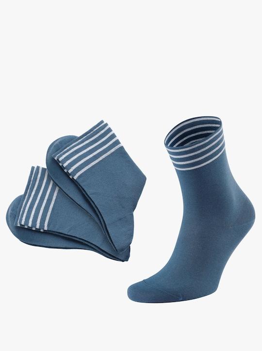 Rogo Dámské ponožky - džínová modrá