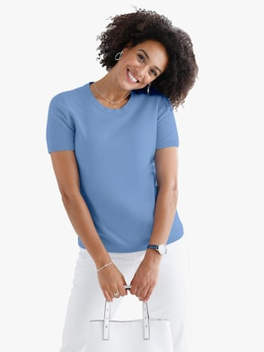 Pullover - hemelsblauw