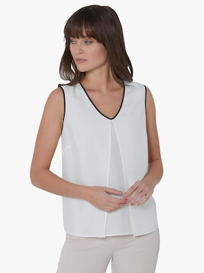Blusentop - weiß