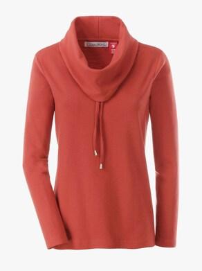 Tričko - terakotová