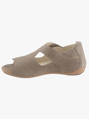 Klettschuh - taupe