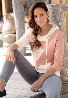 Bench. Kapuzenpullover - rosa