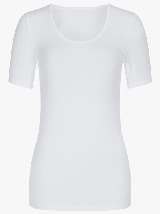 wäschepur Halbarmshirt - weiß