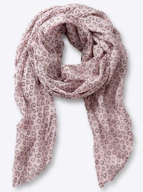 Sjaal - roze
