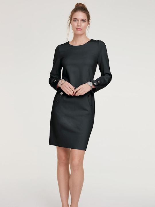 Rick Cardona Jersey-Kleid - schwarz