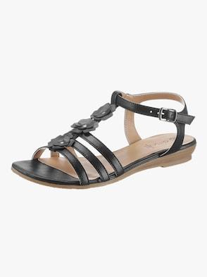 Sandale - schwarz