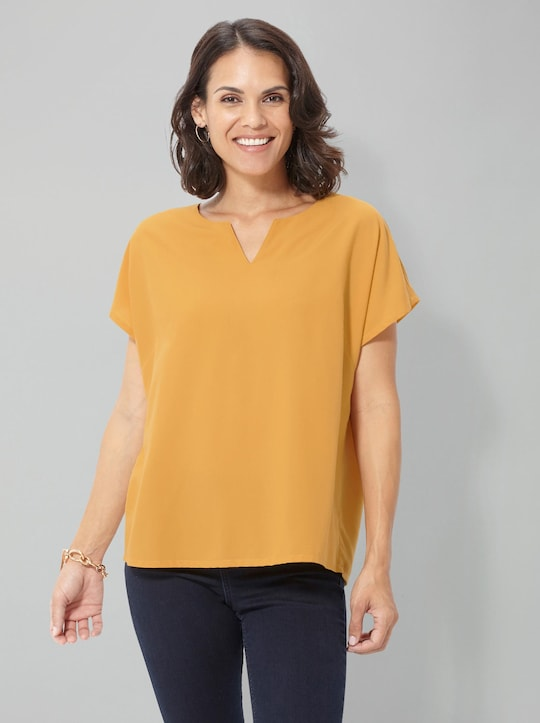 Collection L Bluse - gelb