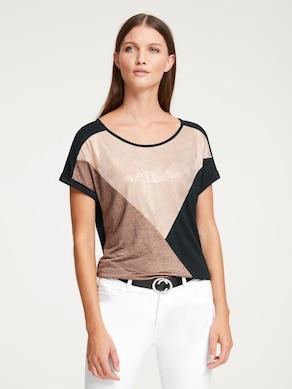 Rick Cardona Shirt - rosé-schwarz