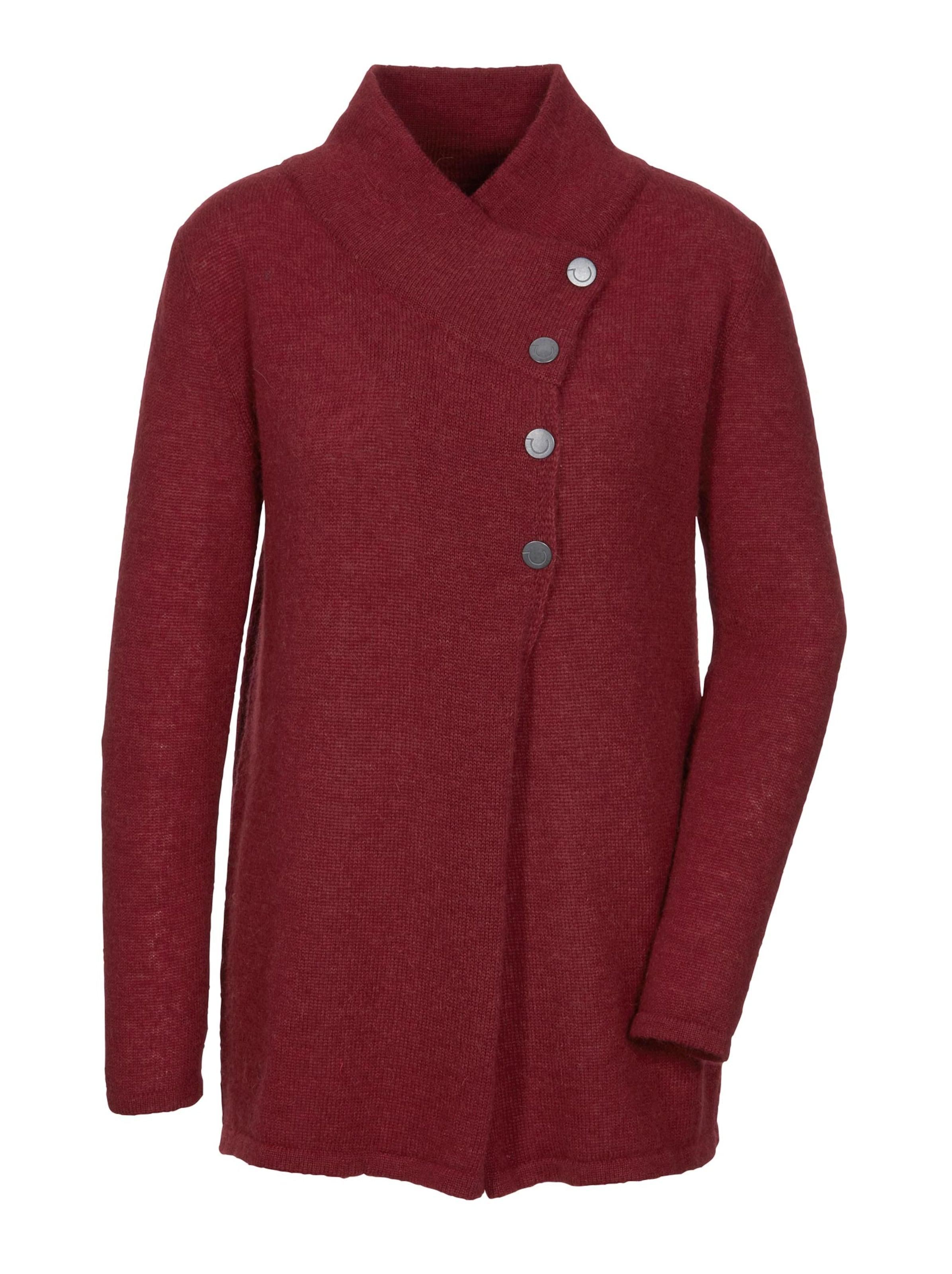 creation l premium - Witt Weiden Damen Woll-Alpaka-Pullover kirsche
