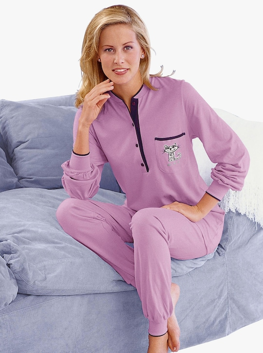 wäschepur Schlafanzug - rosé
