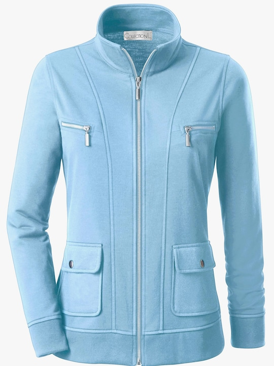 Collection L Shirtjacke - bleu