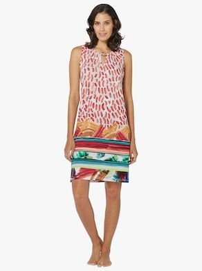 Sommerkleid - bunt-gemustert