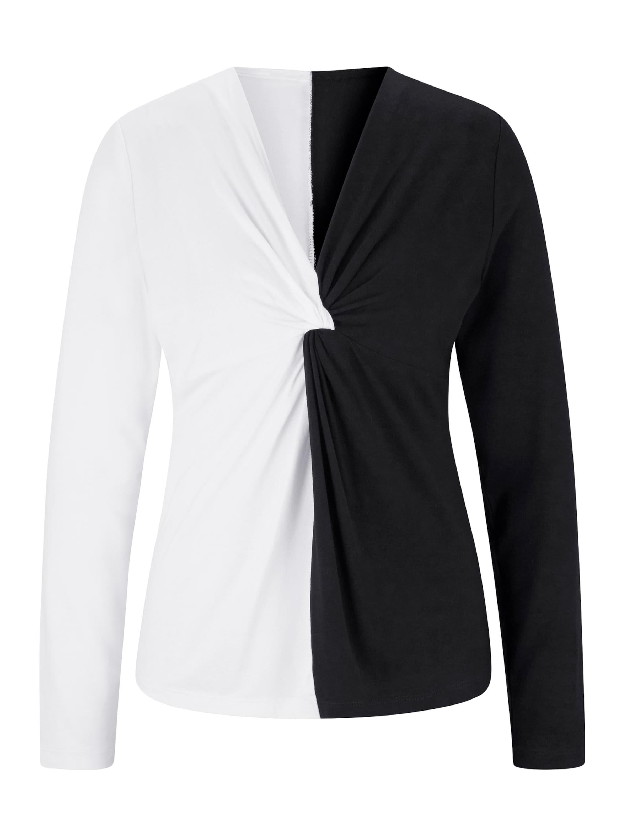 ashley brooke - Witt Weiden Damen Shirt ecru-schwarz