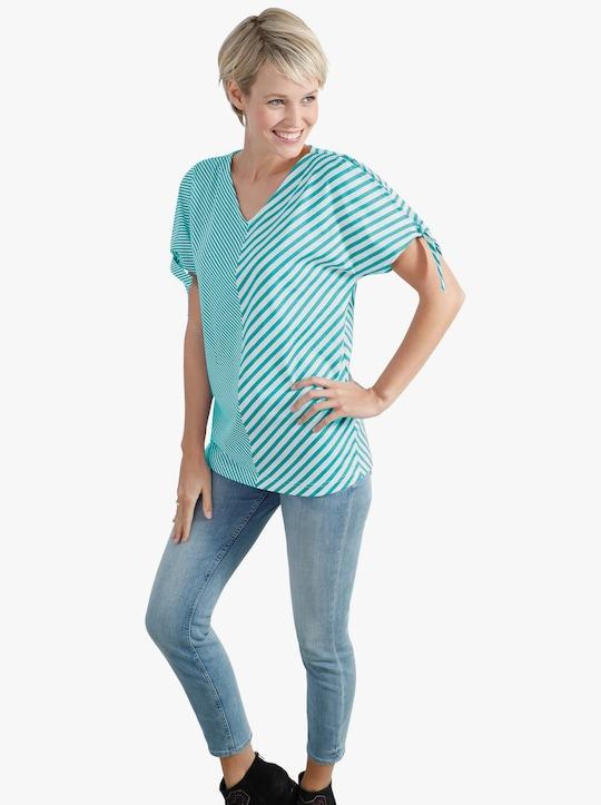 Shirt - groen/wit