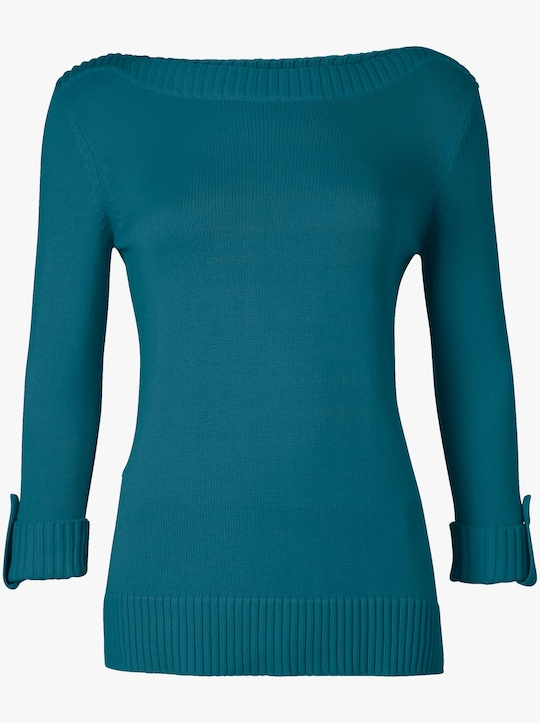 Collection L Pullover - petrol