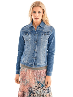 Linea Tesini Jeans-Jacke - blue denim