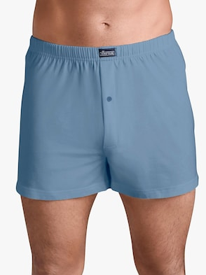 Boxershorts - wit + blauw + marine