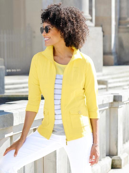 Shirtjacke - gelb