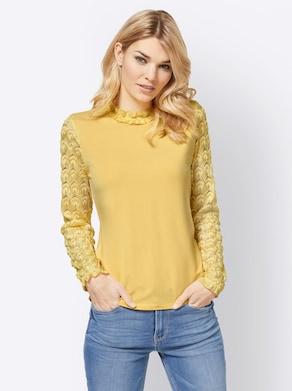 Linea Tesini Shirt - gelb