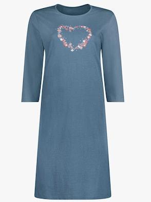 Sleepshirt - jeansblau