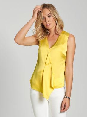 Blusentop - gelb