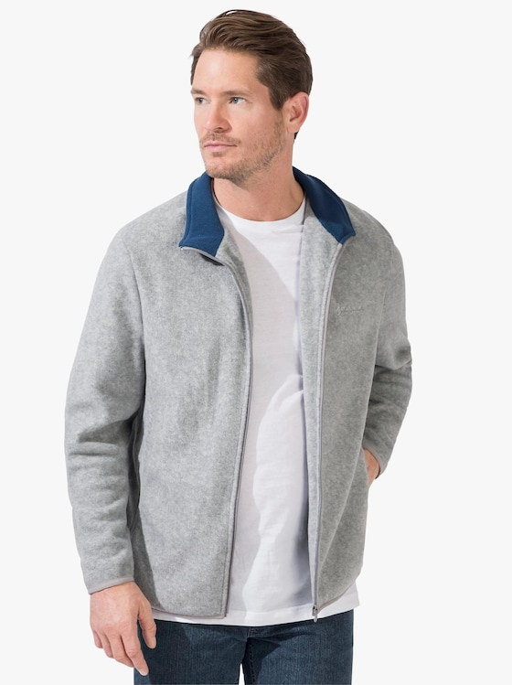 Catamaran Fleece-Jacke - grau