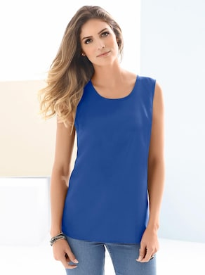 Top - koningsblauw