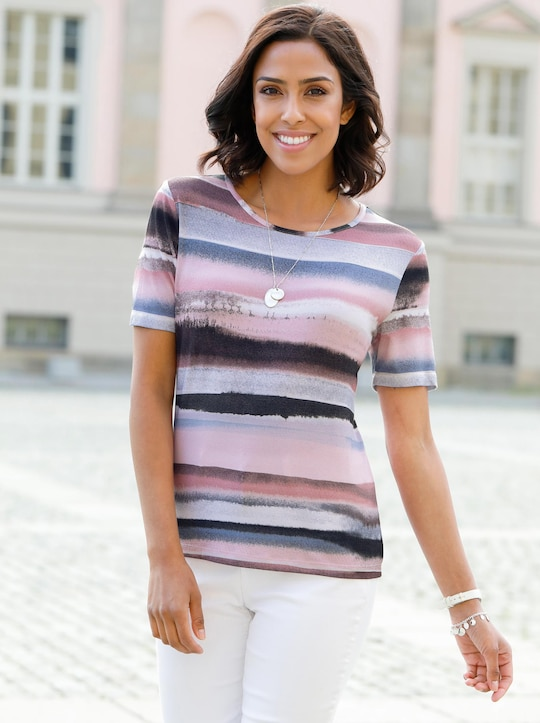 Collection L Shirt - bunt-gestreift