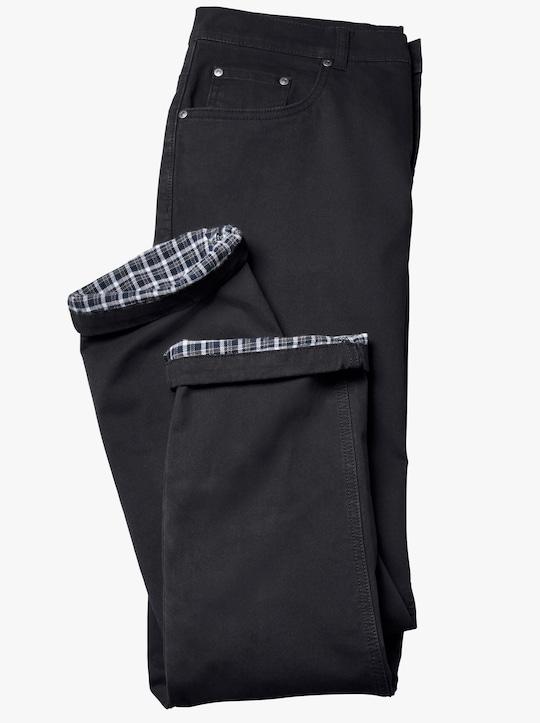 Thermo-Jeans - schwarz