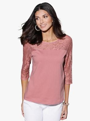 Tričko - růžové dřevo