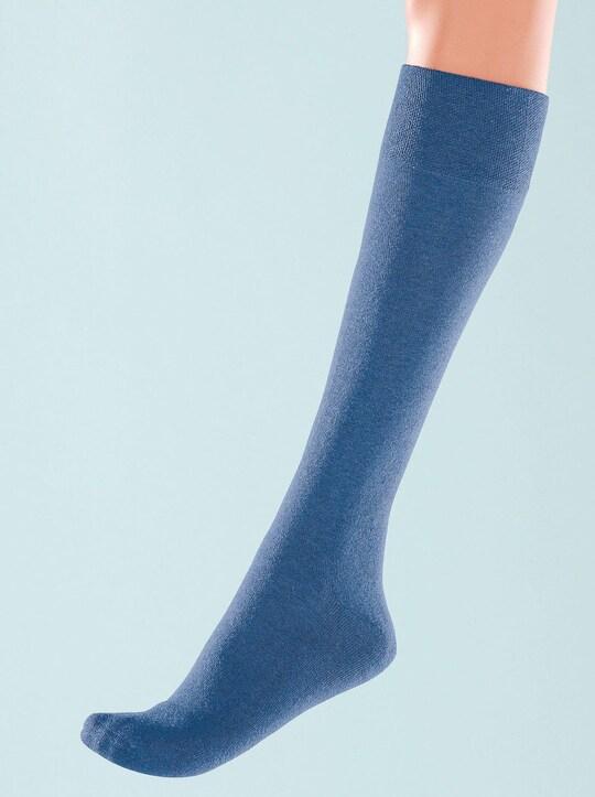 wäschepur Kniestrümpfe - blau