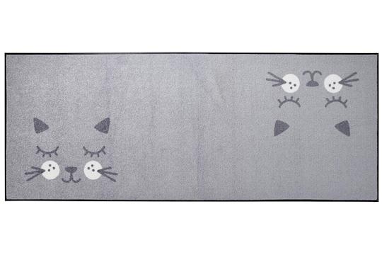 wash&dry Fußmatte - grau