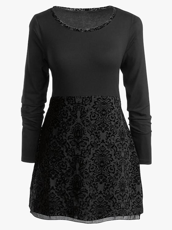 Shirttunika - schwarz
