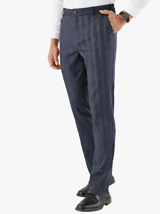 Kalhoty - antracitová-kostka