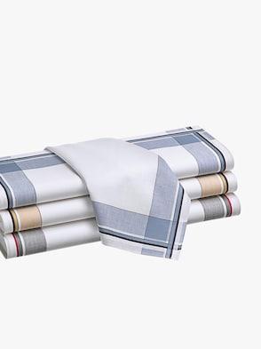 Herenzakdoeken - op kleur gesorteerd