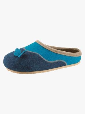Pantoffel - blau