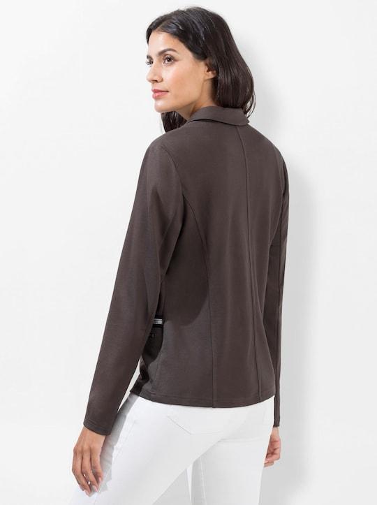 Jersey-Blazer - graphit