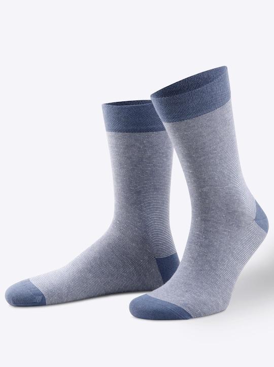wäschepur Socken - jeansblau
