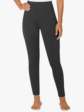 Thermo-Leggings - anthrazit-meliert