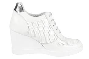 heine Keilsneaker - weiß