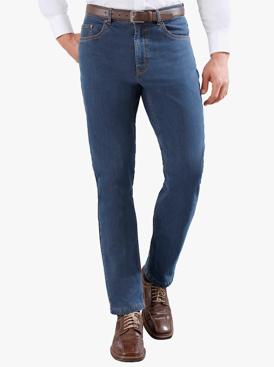 Thermo-Jeans - blue-bleached