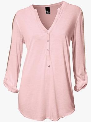 Shirtbluse - rosé