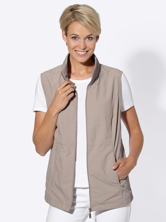 Collection L Weste - taupe